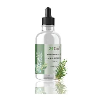 Serum sạch mụn tinh dầu tràm tràm thiên nhiên 24care - 30ml thumbnail