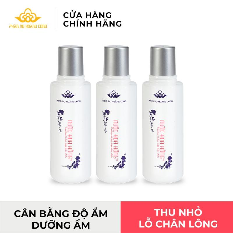 Nước hoa hồng Phấn Nụ Hoàng Cung-Không chứa cồn ,se khít lỗ chân lông ,làm mịn da cao cấp