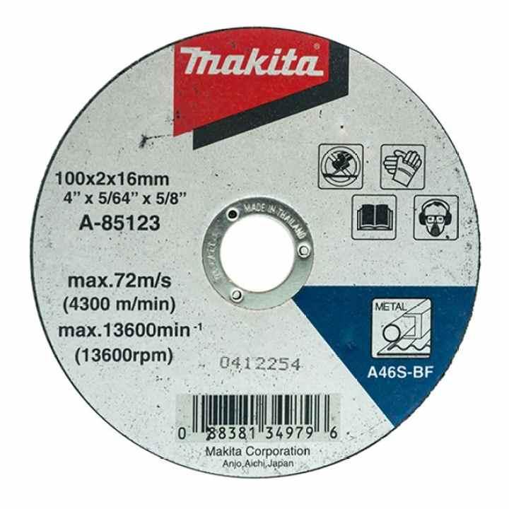 Đá cắt Makita A-85123 (Đen)