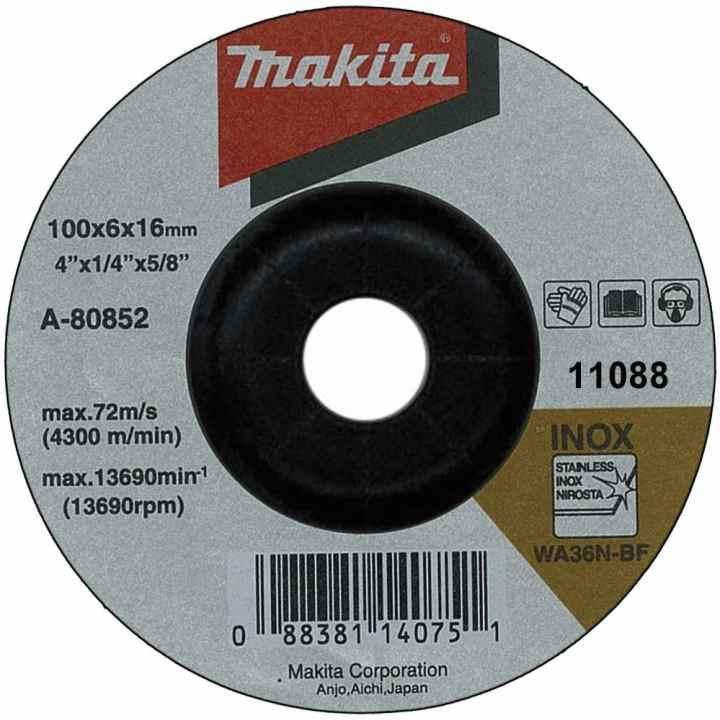 Đá mài inox Makita A-80852 (Đen)