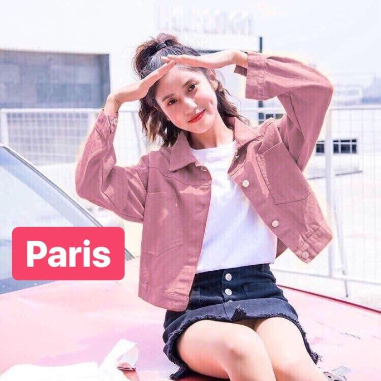 ÁO KHOÁC NỮ KAKI SIÊU CUTE HOT NHẤT 2019 CAO CẤP - PARIS FASHION