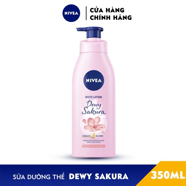 [Hàng Tặng Không Bán] Sữa Dưỡng Thể Dưỡng Trắng NIVEA Hương Anh Đào Dewy Sakura (350ml) - 85703 giá rẻ