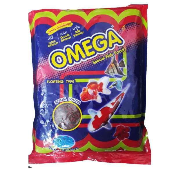 [HCM]Thức Ăn Cá Omega (Viên Nhỏ) 500g - Cám Cá Cảnh