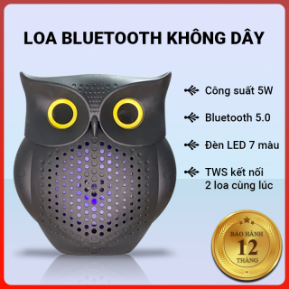 Loa bluetooth không dây Cát Thái SXQF-140 công suất 5W, công nghệ TWS kết nối 2 loa cùng lúc, bluetooth 5.0, âm thanh HIFI, nghe nhạc bằng USB, FM, nhỏ gọn dễ mang theo, đèn LED 7 màu - Bảo hành 12 tháng thumbnail