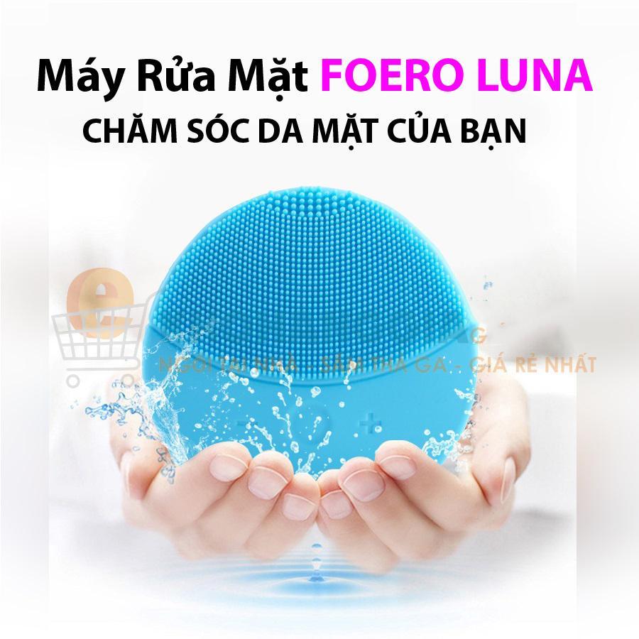 [HÀNG CÓ SẴN] Máy Rửa Mặt Fooreoo Lunaa 2 - Full Size Trị Mụn  Máy Rửa Mặt Mini Cầm Tay , Máy Rửa Mặt Cho Da Sạch Đánh Bay Mụn Giúp Bạn Có 1 Làn Da Mịn Màng Khỏe Đẹp Tự Nhiên , Giúp Bạn Luôn Tự Tin Tỏa Sáng