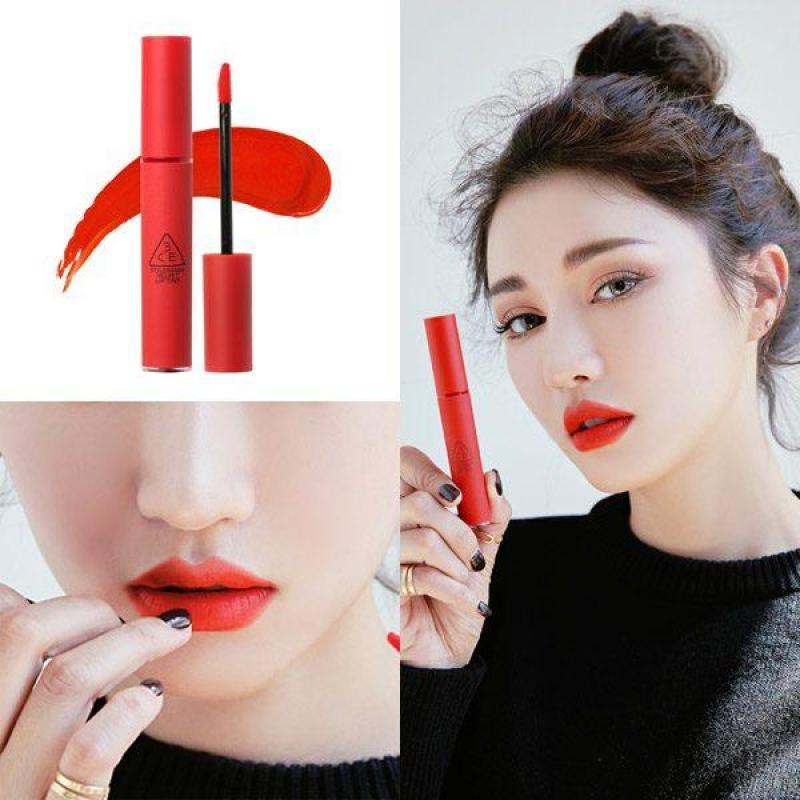 Son kem lì 3CE Velvet Lip Tint #Childlike -Đỏ Cam - Chuẩn Hàn cao cấp