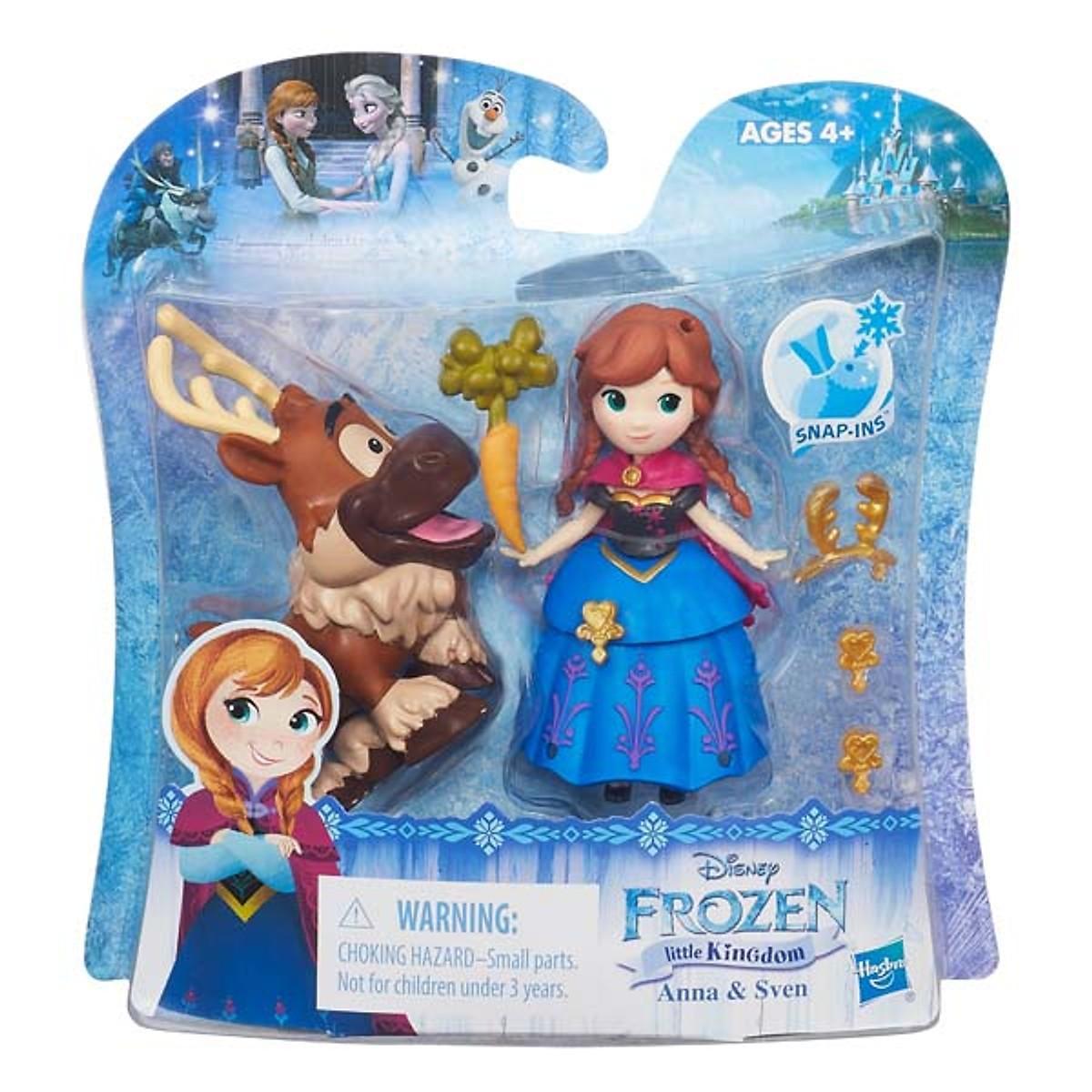 Búp Bê Disney Princess B5187/B5185 Công Chúa Anna Và Sven Mini