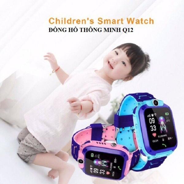 Đồng hồ thông minh định vị trẻ em Q12 có tiếng việt <3 bán chạy