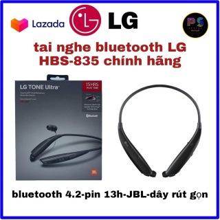 tai nghe bluetooth LG JBL hbs 835 cao cấp full box mớI 100% hàng thật có tem chống giả thumbnail