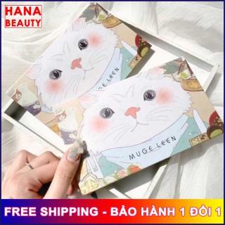 [HOT TREND] Phấn mắt MUGE LEEN 18 ô hình chân mèo siêu xinh hana tech, sẵn gương và nhũ lấp lánh - Hanatech thumbnail