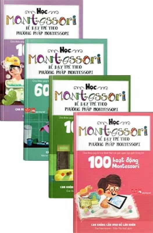 Fahasa - Combo Sách Hay Học Montessori Để Dạy Trẻ Theo Phương Pháp Montessori (Bộ 4 Cuốn)