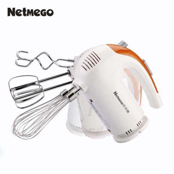 Mua Ngay Máy đánh trứng cầm tay Netmego N38D 300W - dùng - nhào trộn bột- Đánh trứng, đánh kem, … thiết kế gọn nhẹ,tiện lợi - Bảo hành uy tín 1 đổi 1 bởi ShopDeal