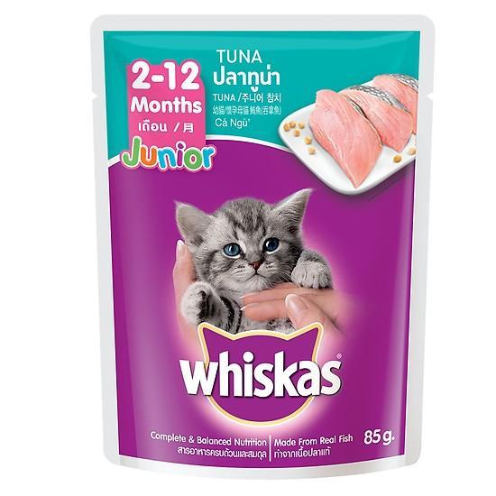 Pate Whiskas Cho Mèo 85g Đang Khuyến Mãi
