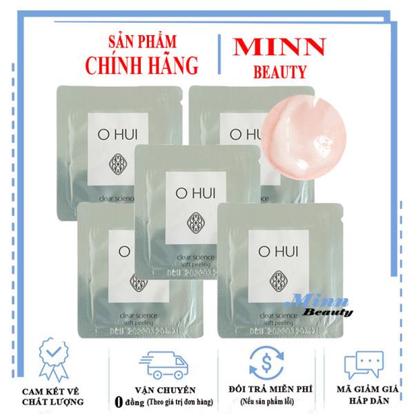 Combo 5 Tẩy Tế Bào Chết Ohui Clear Science Soft Peeling 1mlx5 cao cấp