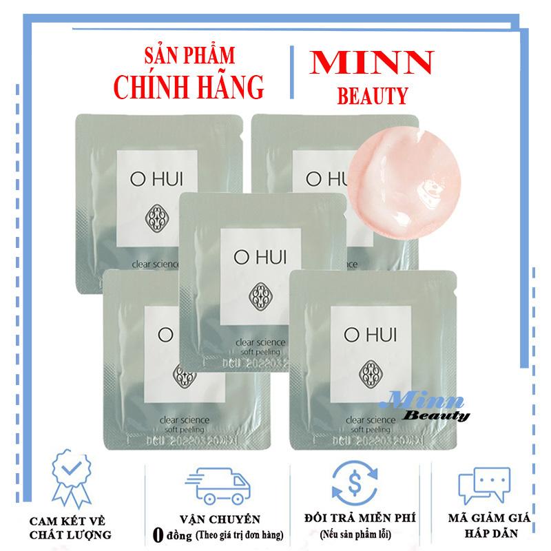 Combo 5 Tẩy Tế Bào Chết Ohui Clear Science Soft Peeling 1mlx5 nhập khẩu