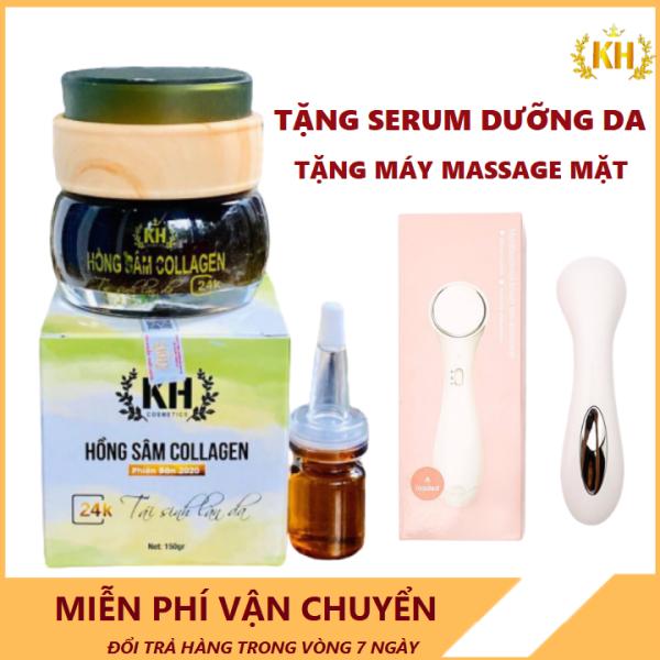 Mặt Nạ Lột Hồng Sâm Collagen Kim Hoàng nhập khẩu