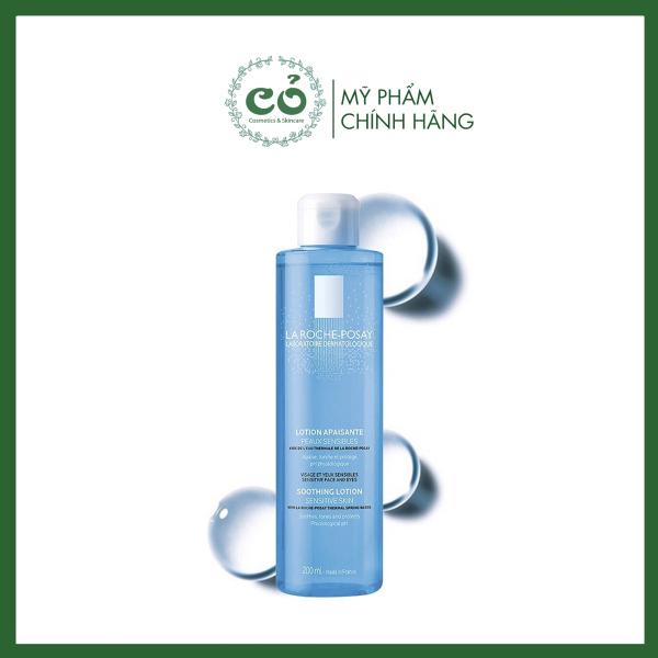 Nước cân bằng cho da nhạy cảm La Roche-Posay Lotion Apaisante 200 mlthành phần của sản phẩm hoàn toàn lành tính và an toàn cho người sử dụng chất lượng và công dụng của sản phẩm đảm bảo như mô tả giá rẻ