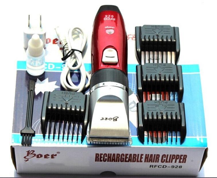 Tông Đơ Cắt Tóc Đẹp Chuyên Dụng Dành Cho Salon Tóc và Gia Đình Loại 2 Pin Chất lượng Giá Rẻ Hấp Dẫn - Bảo Hành 1 Đổi 1