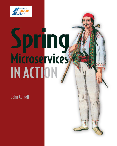 Spring Microservices in Action - Hanoi bookstore
