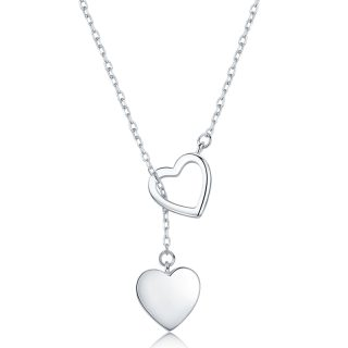 SODROV 925 Sterling Silver Pendant Necklace For Women Heart Necklace Silver 925 Jewelry Women Necklace 925 thumbnail