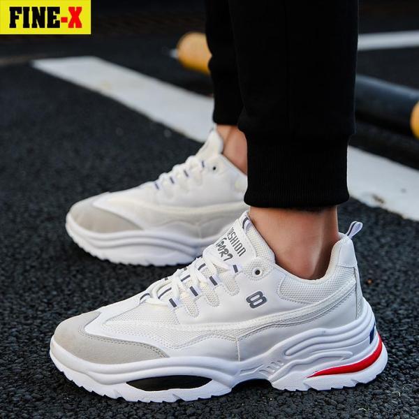Giày sneaker nam hàn quốc cao cấp FINE-X(FX01) - GIÁ CỰC SỐC