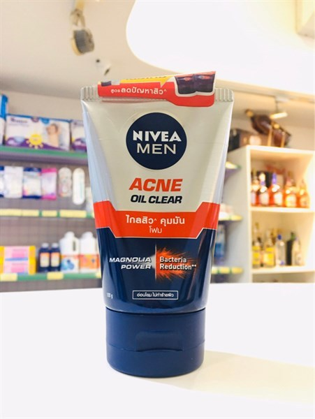 Sữa rửa mặt Nivea Men Acne Oil Clear 100ml