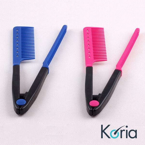 Lược Kẹp duỗi tóc tiện dụng - lược chải tóc đa năng - LD05