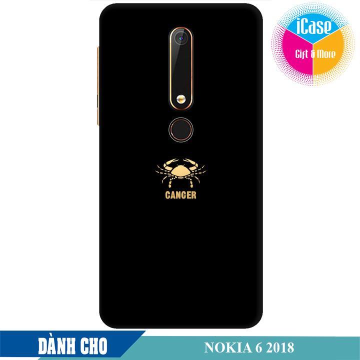 Ốp lưng nhựa dẻo dành cho Nokia 6 2018 in hình Cung Cự Giải