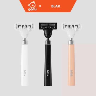Dao Cạo Râu Cao Cấp Dành Cho Phái Mạnh Lưỡi Dao Chuyên Nghiệp Blak Shave Full Color Gomi Store thumbnail