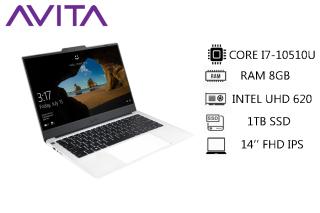 [Trả góp 0%]AVITA LIBER V 14 Pearl White with Backpack - Intel Core i7-10510U RAM 8GB SSD 1TB Win 10 Home - Bảo hành 18 tháng - Tặng Balo - Hàng chính hãng thumbnail