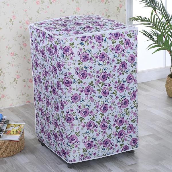 Bảng giá Áo Trùm Máy Giặt Cửa Trên Vải Dù Size 9 - 10kg Hoa Văn Đa Dạng - Kara House Điện máy Pico