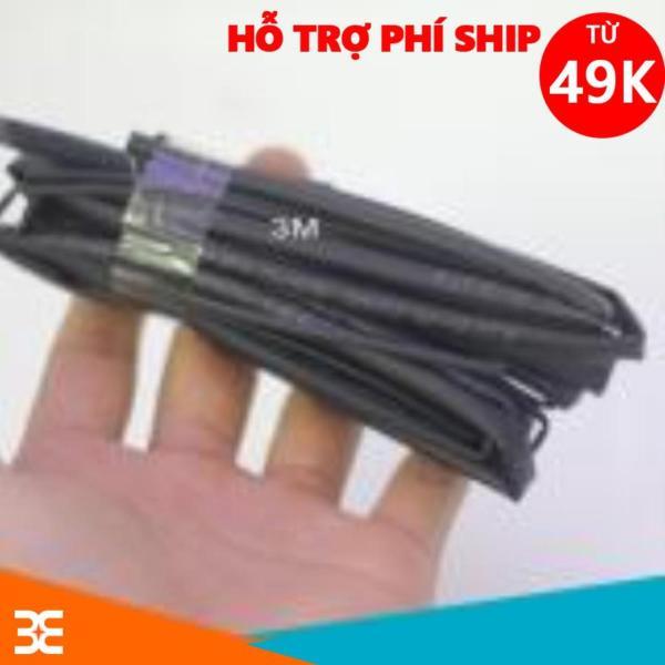 Combo Bộ 5 Ống Gen Co Nhiệt, Cách Điện 1mm, 2mm, 3mm, 4mm, 5mm, Dài 1m Mỗi Sợi - Màu đen
