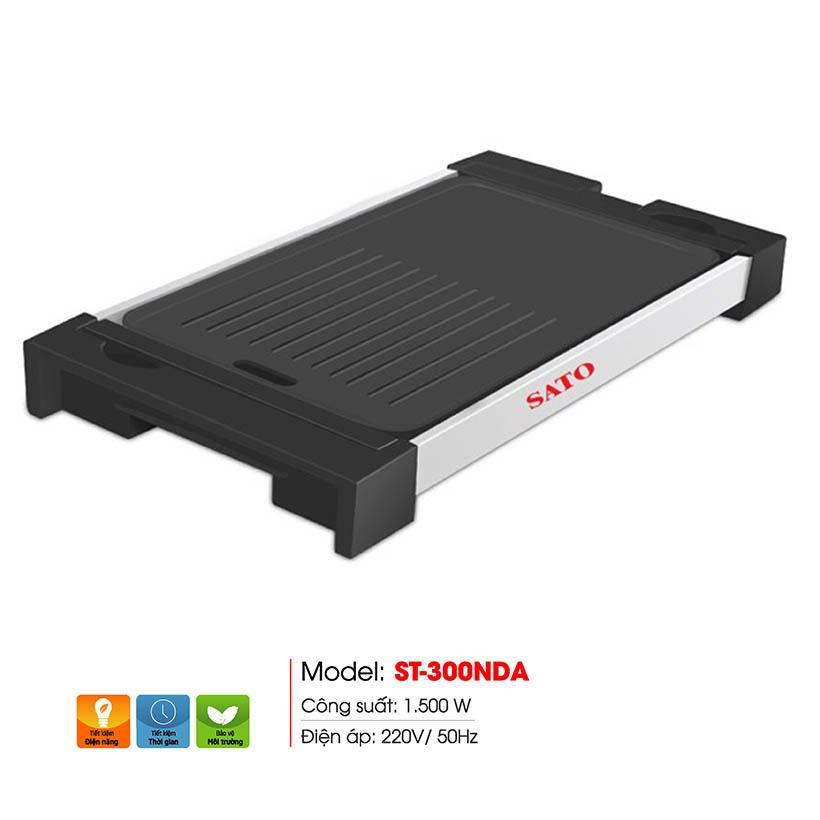 Deal Giảm Giá Bếp Nướng điện SATO ST-300NDA (Màu đỏ)