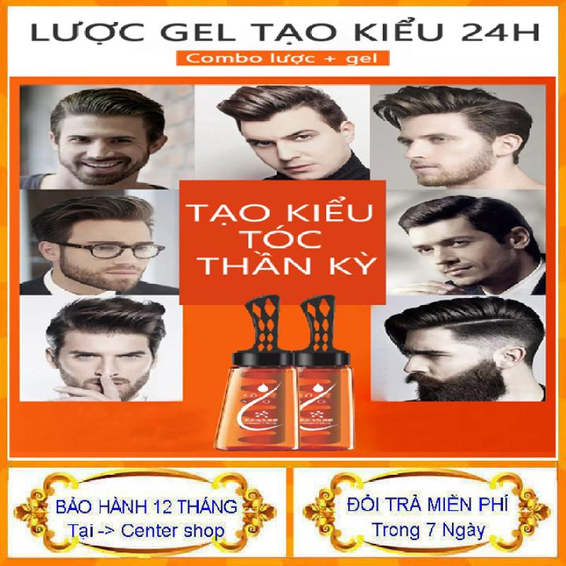 [ Siêu Hót ] Keo tóc keo vuốt tóc nam cao cấp chai 280ml kèm lược tiện dụng thân thiện với mọi loại tóc