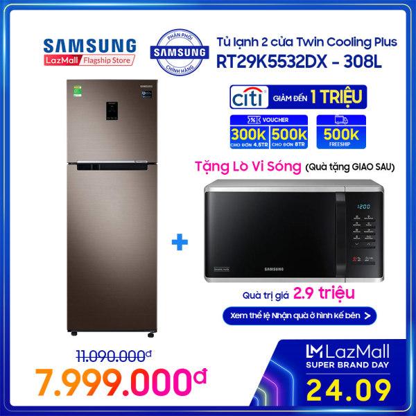 Bảng giá [Tặng Lò Vi Sóng & Freeship 500K] Tủ lạnh hai cửa Samsung Twin Cooling Plus 308L - RT29K5532DX Điện máy Pico