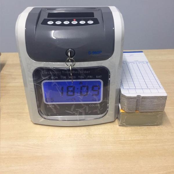 Giá Máy chấm công bằng thẻ giấy đồng hồ điện tử S-960P