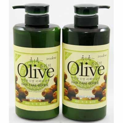 Combo 2 Chai Dầu Gội Và Dầu Xả Olive Hàn Quốc 800ml/ Chai giá rẻ