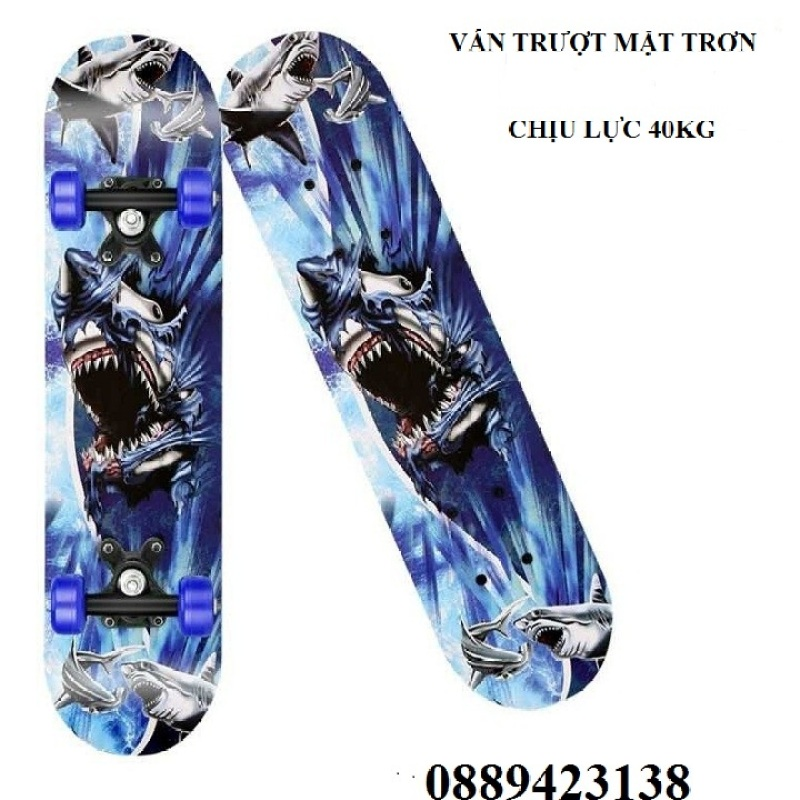 Phân phối Ván Trượt Trẻ Em- Ván Trượt Skateboard- Thiết Kế Nhỏ Gọn - Ván Gỗ Dày Khung - Hợp Kim Chắc Chắn
