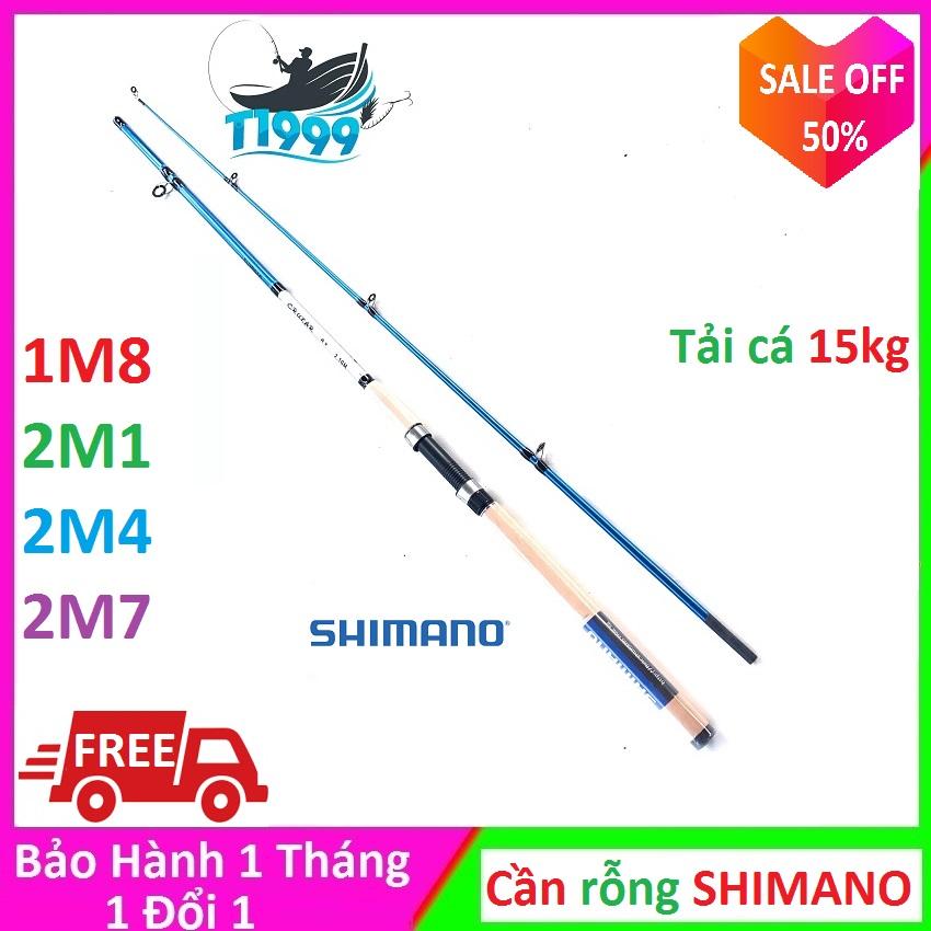 Cần câu 2 khúc Shimano Cruza rỗng bọng Bạo Lực Tải cá 10kg , 1m8 - 2m1 - 2m4 - 2m7 , can cau may , can cau 2 khúc , can cau lure , can cau gia re - T1999
