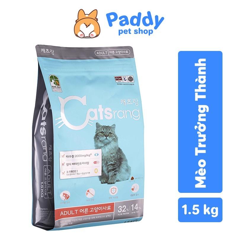 [1.5kg] Catsrang - Thức ăn hạt cho mèo trưởng thành