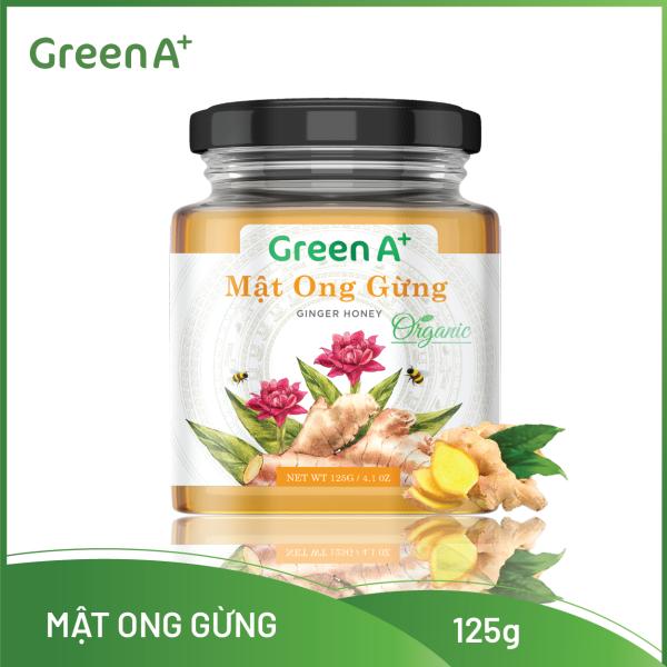 MẬT ONG NGUYÊN CHẤT TỰ NHIÊN GREEN A+ 125Gr - Gừng/Chanh/Atiso/Hoa Rừng/Thảo Mộc/Trái cây nhập khẩu