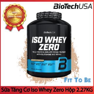 Sữa Tăng Cơ Iso Whey Zero BiotechUSA Túi 1.8kg thumbnail