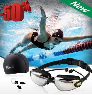 Kính Bơi,Kính Bơi Cận Phoenix,Kính Bơi Người Lớn,Trẻ Em và Kính Bơi Cận,Mua Ngay Combo Kính Bơi Gồm Kính +Mũ +Kẹp Mũi +Kẹp Tai Cao Cấp Chất Lượng BH 1 đôỈ 1 Trong 12T Bởi TECH365 shop(GIẢM-50%) thumbnail
