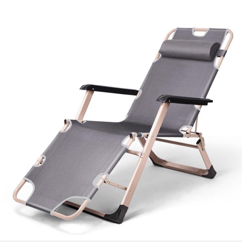 Ghế xếp đa năng kiêm giường văn phòng màu xám giá rẻ