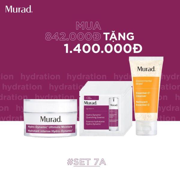 SET 7A: Kem dưỡng siêu cung cấp ẩm Murad Hydro Dynamic Ultimate Moisture 15ml giá rẻ
