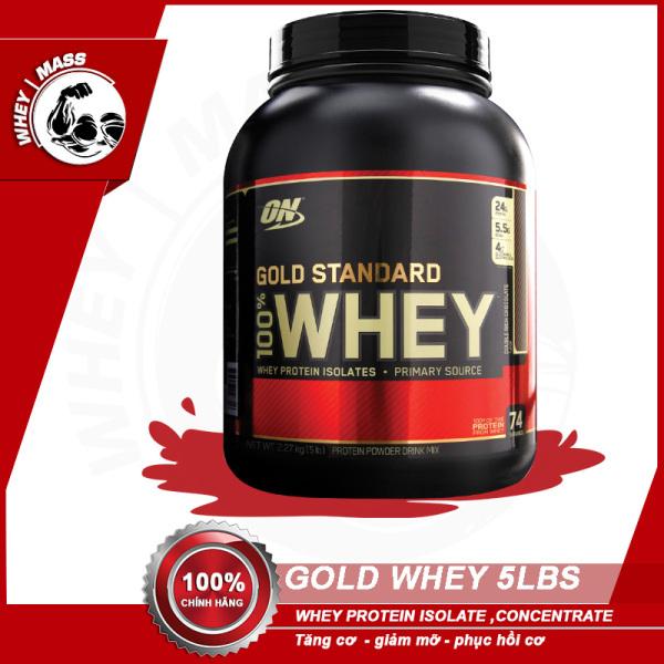 Sữa Tăng Cơ Bắp ON Gold Stard 100% Whey 5 Lbs (2.6kg) nhập khẩu