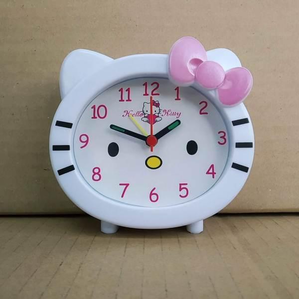 Nơi bán Đồng hồ để bàn có báo thức - Đồng hồ để bàn Kitty nhỏ