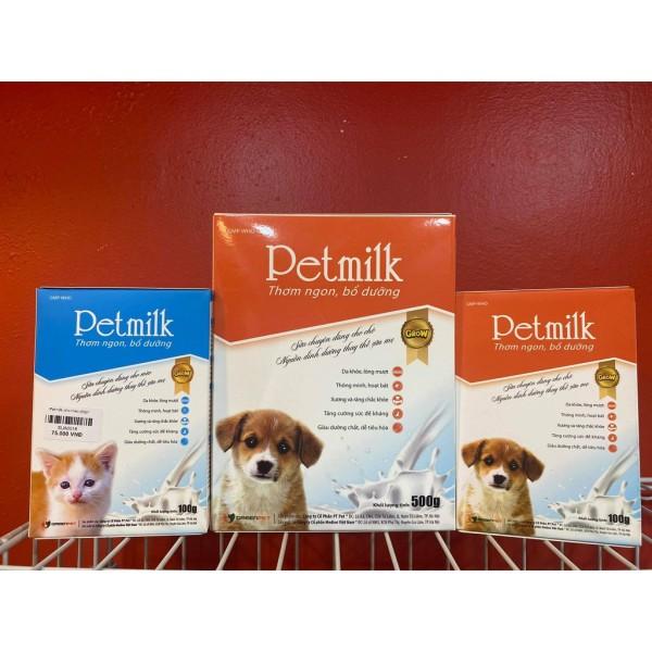 Sữa Cho Chó Mèo Pet Milk- Sữa Bột Cho Chó Mèo Con PetMilk