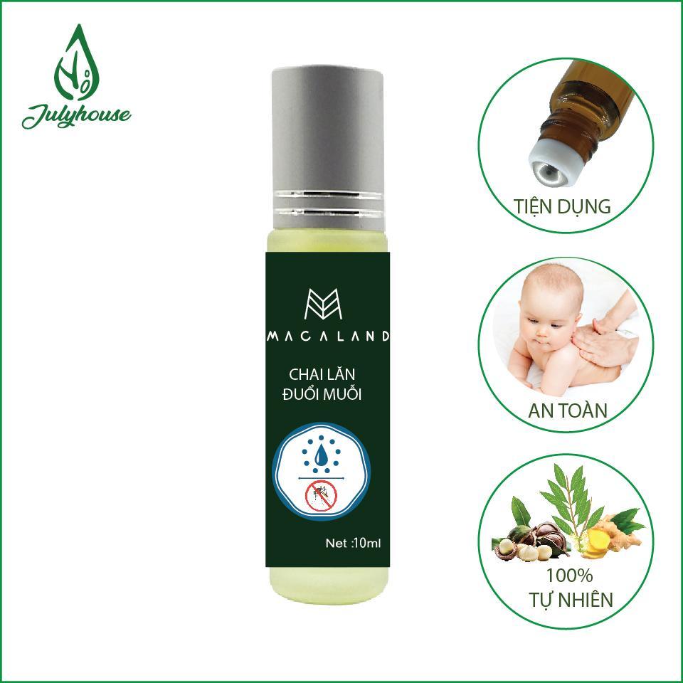 Chai lăn tinh dầu ngăn muỗi cắn em bé Macaland 10ML