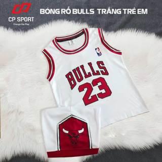 Quần áo bóng rổ CP Bulls trẻ em thun mè mát, thoáng khí thấm hút mồ hôi tốt, hàng đẹp, chất lượng, giá rẻ. thumbnail